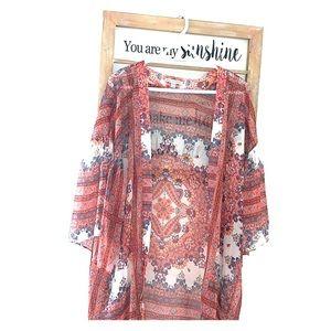American Eagle Pattern Kimono